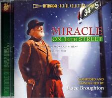 """Bruce Broughton """"MIRACLE ON 34TH STREET"""" score Intrada 1500 Ltd CD sold out"""