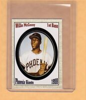 WILLIE MCCOVEY '59 PHOENIX GIANTS ROOKIE SEASON BY SUPERIOR ONLY 500 EXIST