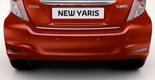 Toyota YARIS 3 III 10-15 - CHROME Rear Trim Strip Trunk Boot Tuning Tailgate 3M