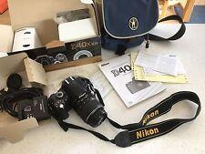 Nikon D40x fotocamera reflex digitale Bundle, Con Borsa per trasporto supplementari.
