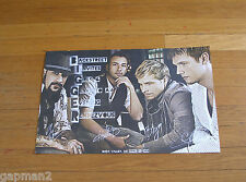 Backstreet Boys 2010 Napa Valley California Limited Edition Fan Event Poster