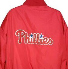 Philadelphia Phillies Bomber Jacket Vintage 90s Reversible Stitched Majestic 3XL