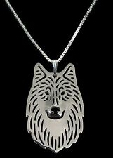 Wolf Pendant Necklace -  Fashion Jewellery - Silver Plated