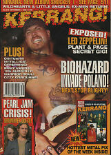 Biohazard on Kerrang Cover 1994    Axl Rose    Led Zeppelin    Paradise Lost
