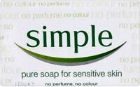 Simple Soap for sensitive skin - 125 g