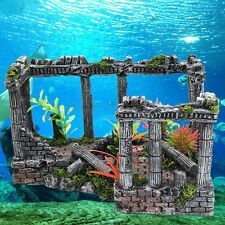Ancient Roman Ruins Ornament For Aquarium Fish Tank Home Decoration Terrarium