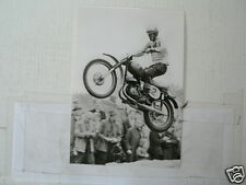 C JOEL ROBERT CZ WK 250 CC 1964 MX CROSS VINTAGE POSTCARD MOTO 16-05