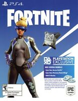 PS4 Exclusive Fortnite: Epic Neo Versa Skin +500 V-Bucks (USA) DELIVERY in 30min