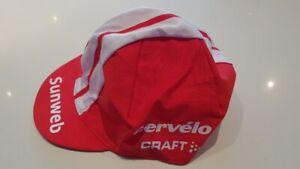 Pro cycling jersey 2020 Team SUNWEB CERVELO CAP HAT new