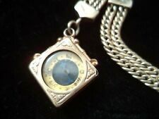 Watch Chain and fob Beautiful gold filled vintage Pocket