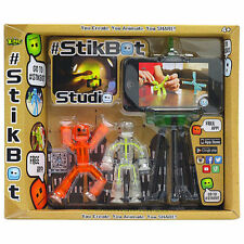 Stikbot Studio with Two Figures - Stop Motion Animation App Toy