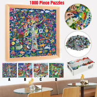 1000 Piece Jigsaw Puzzle For Adults Kids Christmas Learning Education Toy Gift