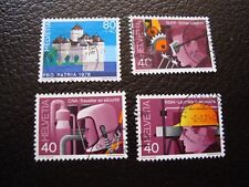 SUISSE - timbre yvert et tellier n° 1063 a 1066 obl (A2) stamp switzerland (R)