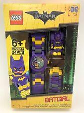 LEGO The Batman Movie Batgirl With Mini-Figure Link Kids Watch 8020844 New