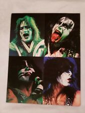 "KISS THE FAREWELL TOUR 1973-2000 CONCERT PROGRAM BOOK 11""x14"" OVERSIZED GLOSSY"