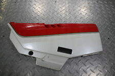 1988 KAWASAKI NINJA 750R ZX750F LEFT FRONT SIDE SEAT SADDLE PANEL TRIM COWL