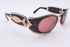 Vintage Cazal 919 Rx Sunglasses Frames 126 Black Gold 49[]16-130 Purple C349