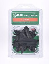 10 Plastic lawnmowers Blades / FLYMO MICROCOMPACT - MC30 FLY015, 5127557-90/7