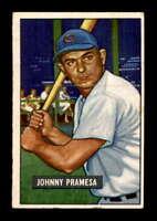 1951 Bowman #324 Johnny Pramesa RC EX X1534325
