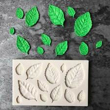 Leaves Embellisment Silicone Fondant Mould Cake Decor Sugar Chocolate Mold