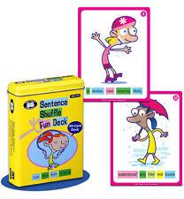 Sentence Shuffle Fun Deck Super Duper Flash Cards Parts of Speech Educational