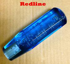 Octangle BUBBLE SHIFT KNOB JDM VIP 5.75'' Gear Stick Shifter Drift -Blue color