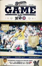 FRANCISCO RODRIGUEZ ON COVER MILWAUKEE BREWERS 2014 OFFICIAL GAMEDAY PROGRAM #10