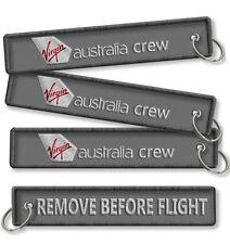 Virgin Australia-Remove Before Flight crew tags x2