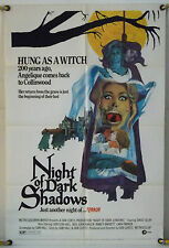 Night Of Dark Shadows Ff Orig 1Sh Movie Poster Dan Curtis Horror (1971)