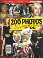 EDITOR'S OF THE ENQUIRER: 200 PHOTOS THAT STUNNED THE WORLD IN 2012 - FREE SHIP