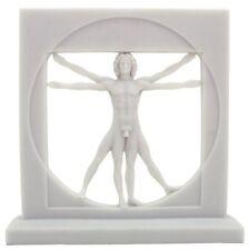 8.5 Inch The Vitruvian Man By Leonardo Da Vinci Statue Greek Museum Collectible