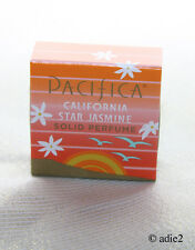 Pacifica California Star Jasmine Solid Perfume, New in Box, .33 oz, Discontinued