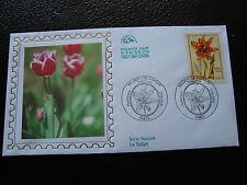 FRANCE - enveloppe 1er jour 17/6/2000 (tulipe lutea) (cy41) french