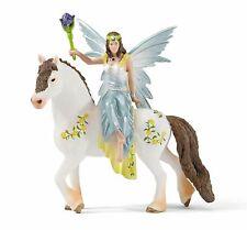 SCHLEICH BAYALA 70516 - EYELA IN FESTIVE DRESS, RIDING A HORSE – NEW!