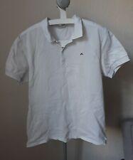 J LINDEBERG JL Polo Shirt XXL Extra Large x2 Slim Fit Golf 100% cotton white