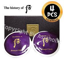 The history of Whoo Hwanyu Cream 0.6ml x 4pcs (2Box) Premium Sample LG CARE