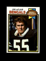 1979 Topps Football #454 Jim LeClair (Bengals) NM+