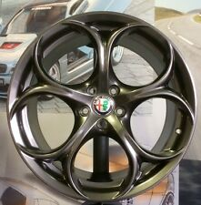 "A Set of 4 OEM Wheels 19"" ALFA ROMEO GIULIA + tyres 225/40+255/35 rear PIRELLI"
