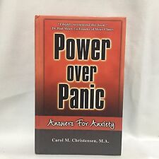 Power Over Panic Answers for Anxiety Carol Christensen HC Free Ship
