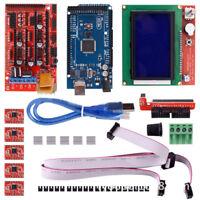 3D Printer RAMPS 1.4 Kit Mega2560 5x A4988 LCD 12864 Display Board for RepRap