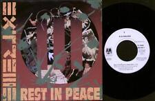 "Extreme reste dans Peace 7"" PS, german issue, radio edit B/W Peacemaker les, le 00"
