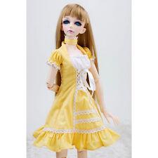 [wamami]129# Yellow Dress/Suit/Outfit 1/4 MSD AOD DOD DZ BJD Dollfie