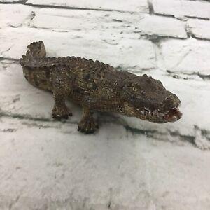 Schleich 2014 Alligator Figure Detailed Wildlife Replica Nature Animal Toy