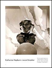1935 Katharine Hepburn actress Break of Hearts vanity fair vintage photo   adL29