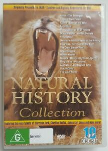 Natural History Collection DVD Box SET 10 Disc Region 4