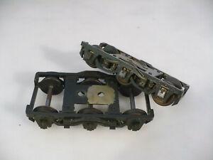 BRASS O Precision 6 Wheel Pullman Trucks pair C/P NO RESERVE