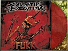 SADISTIK EXEKUTION - Fukk LP (RED Vinyl,lim. 400 Copies) NEW, Black/Death Metal,