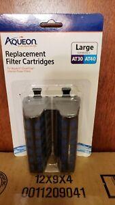 New Aqueon Quietflow Internal Replacement Filter Cartridges Large AT30 AT40