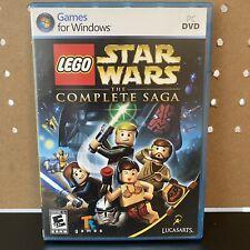 LEGO Star Wars: The Complete Saga (PC, 2009) Games for Windows Complete CIB