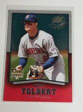 2008 Upper Deck Timeline Matt Tolbert ROOKIE # 81 Twins MINT RC